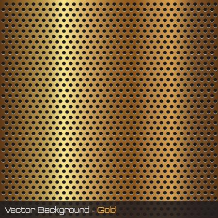 Imagen de una textura de fondo de oro. Foto de archivo - 10470631