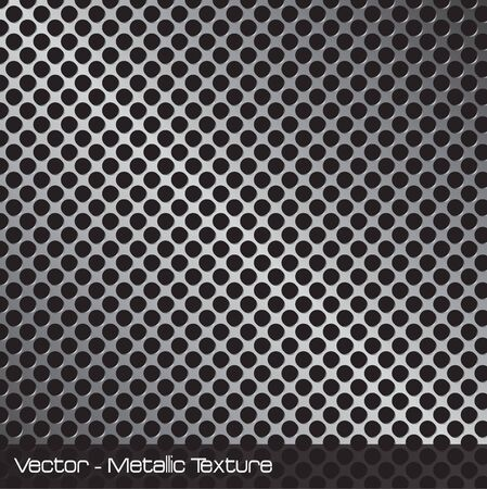 grille: Image of a metallic background pattern. Stock Photo