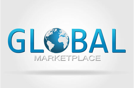 The world and the global marketplace. photo