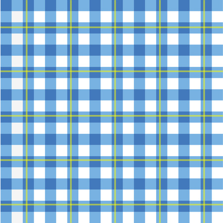 picnic tablecloth: Image of a colorful blue checker pattern