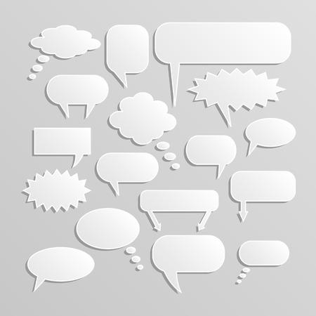 chat bubbles: Illustration of chat bubbles. Illustration