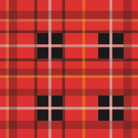 checked: Background illustration of a colorful plaid pattern.