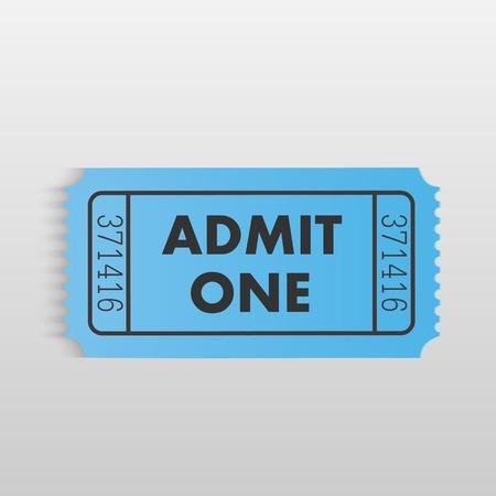 stub: Illustration of a ticket on a light gray background.