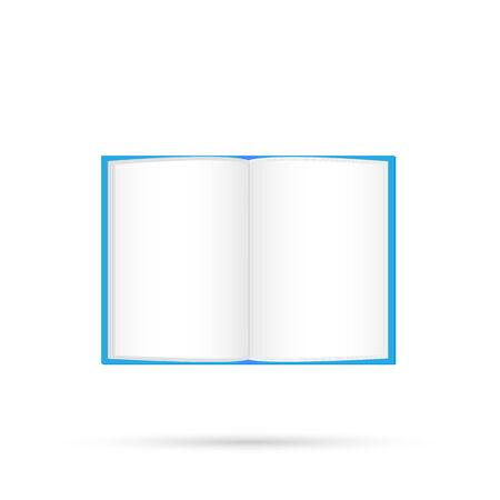 Illustration of a book isolated on a white background. Illustration