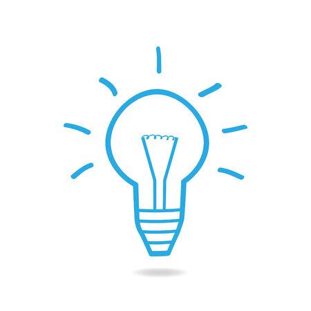 energysaving: Illustration of a lightbulb design isolated on a white background.