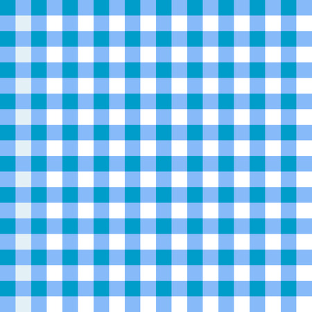 picnic tablecloth: Illustration of a blue tablecloth pattern. Illustration
