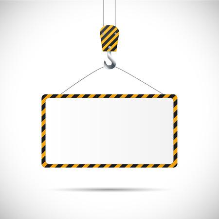 Illustratie van een constructie verkeersbord geïsoleerd op een witte achtergrond. Stockfoto - 34773182