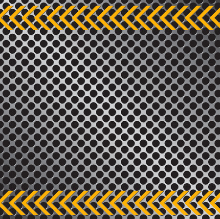 road surface: Illustration of a metallic pattern background texture. Illustration