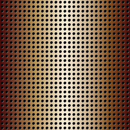 Illustration of a colorful metallic pattern background.