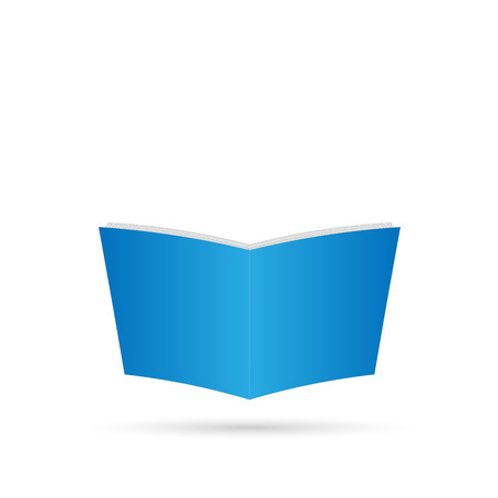 book isolated: Illustration of a book isolated on a white background. Illustration