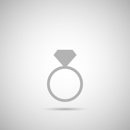 Illustration of a diamond silhouette against a light background.