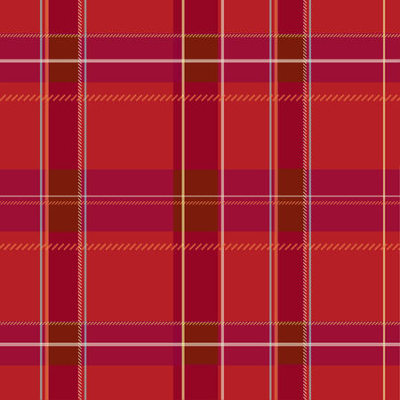 Illustration of a colorful plaid pattern background. Vector