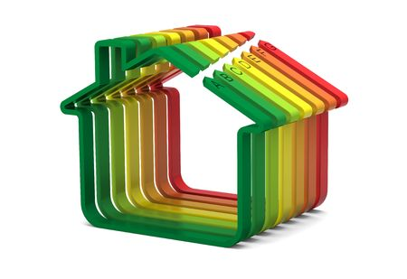 energy performance certificate: Energy performance scale applied to building assessment