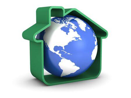 Earth Sweet Home Stock Photo - 5944225