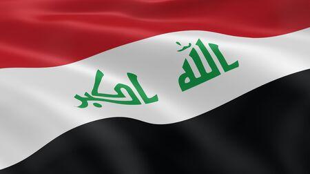 iraqi: Iraqi flag in the wind. Part of a series.