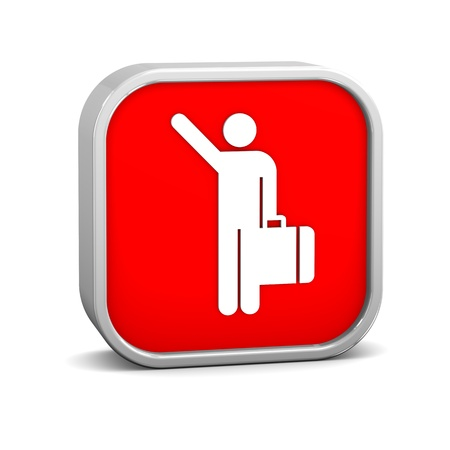 depart: Arriving Flights sign on a white background. Part of a series. Stock Photo