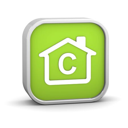 House Sign with C energy performance classification Stock Photo - 11869367