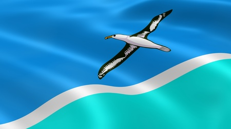 midway: Midway Atoll flag in the wind. Part of a series.