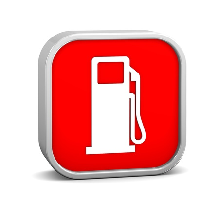 diesel fuel: Gas sign on a white background. Part of a series.