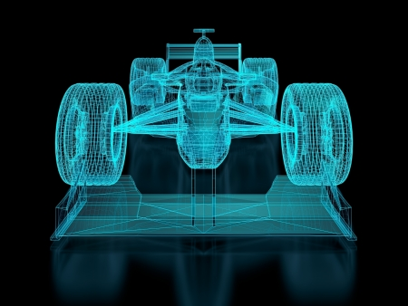 formula one car: Formula racing car
