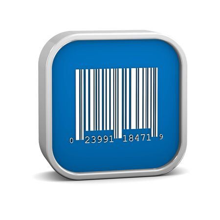 Bar code sign on a white background  Part of a series  Stock Photo - 17963784