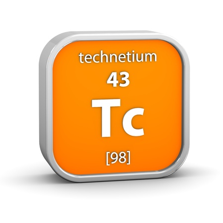 affinity: Technetium material on the periodic table. Part of a series.