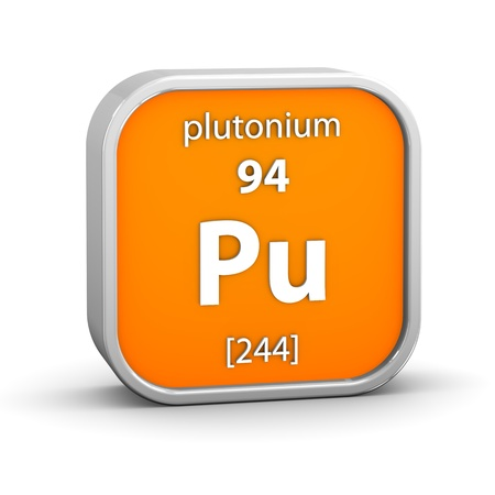 affinity: Plutonium material on the periodic table. Part of a series.