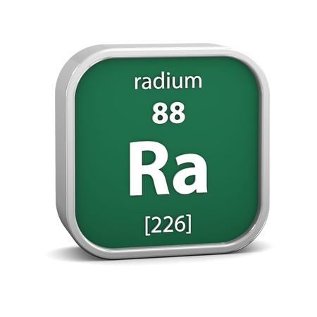 radium: Radium material on the periodic table. Part of a series.