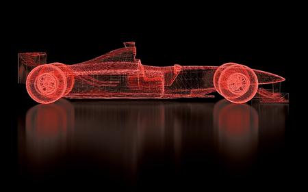 auto da corsa Archivio Fotografico