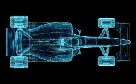 Formula One Mesh. Teil einer Reihe. Standard-Bild - 33729641