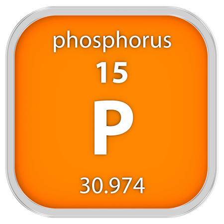 Phosphorus Material On The Periodic Table Part Of A Series Stock