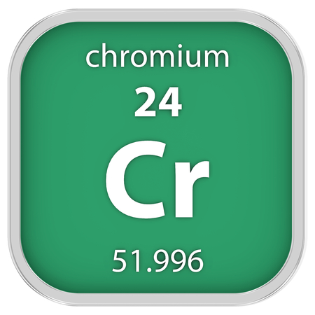chromium: Chromium material on the periodic table