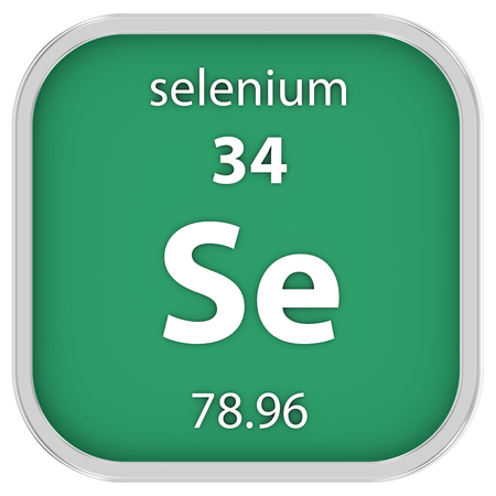 selenium: Selenium material on the periodic table