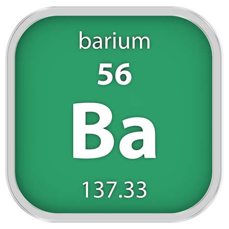barium: Barium material on the periodic table