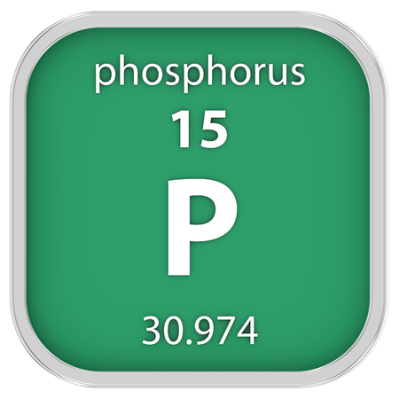 Phosphorus Material On The Periodic Table Stock Photo Picture And