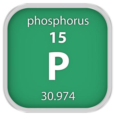 phosphorus: Phosphorus material on the periodic table