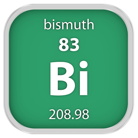 bismuth: Bismuth material on the periodic table