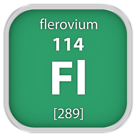 affinity: Flerovium material on the periodic table