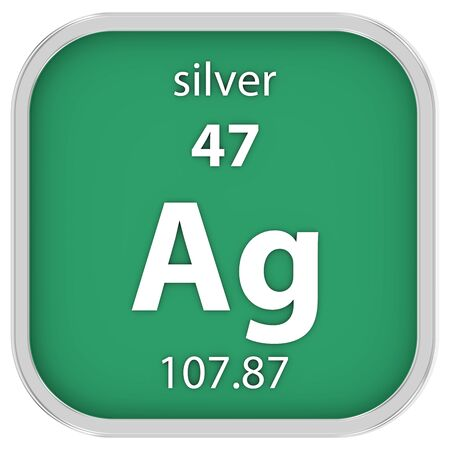 affinity: Silver material on the periodic table