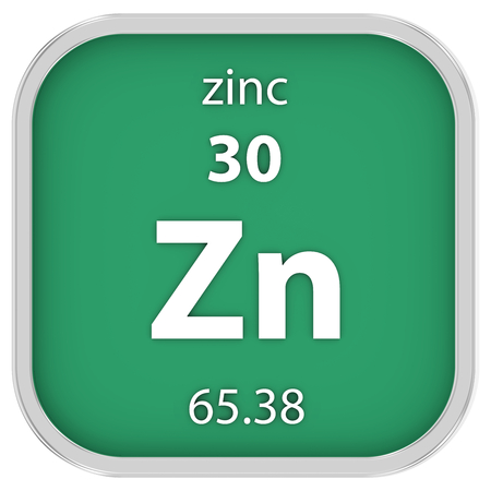 affinity: Zinc material on the periodic table
