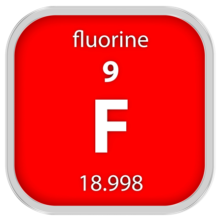 fluorine: Fluorine material on the periodic table