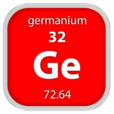 affinity: Germanium material on the periodic table