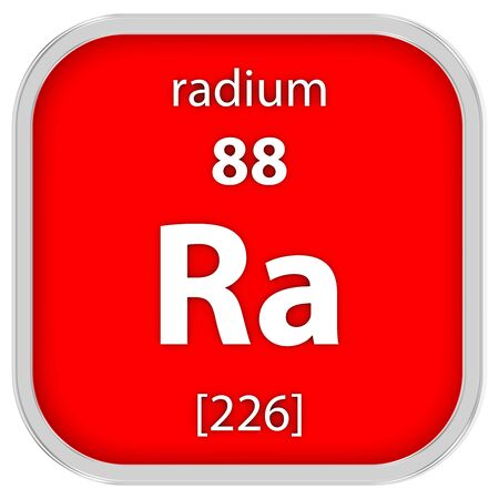 radium: Radium material on the periodic table