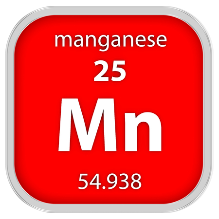 affinity: Manganese material on the periodic table