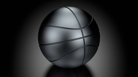 low key lighting: Basket Ball in Low Key Lighting over a black background. Part of a series.