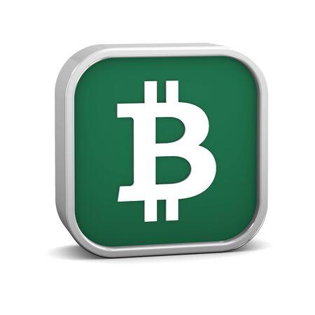 Bitcoin auf einem weißen Hintergrund zu unterzeichnen. Teil einer Reihe. Standard-Bild - 78484727