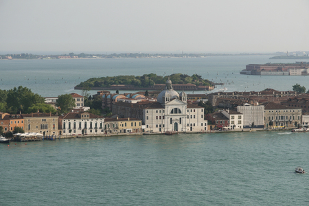east end: The church of St  Mary of the Presentation, commonly known as the Old Maids, is a religious building of the city of Venice, located at the east end of the island of Giudecca