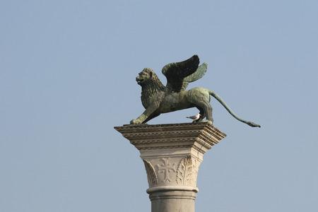 leon alado: Le�n alado de la Piazza San Marco, Venecia