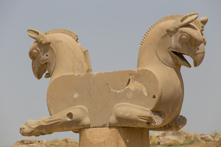 empire: Persepolis the ceremonial capital of the Achaemenid Empire in Iran Stock Photo