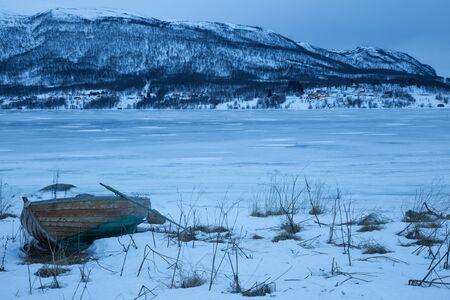 seaa: Norway in winter trip near Tromso Stock Photo